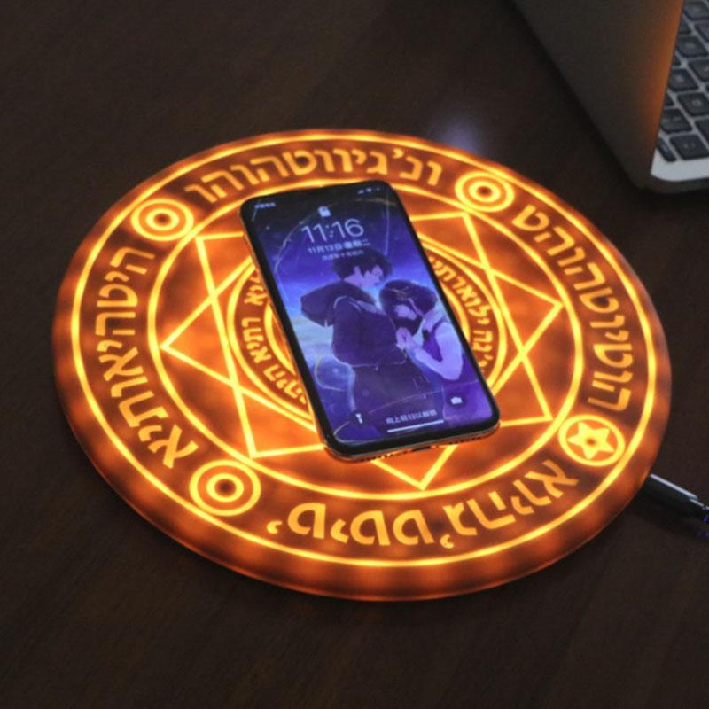 10M Magic Array Wireless Charger Universal Qi Wireless Fast Charger Charging