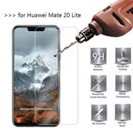 9H Tempered Glass For Huawei Mate 20 Lite Screen Protector protective film For Huawei Mate 20 Lite P20 Pro Mate 20 Pro