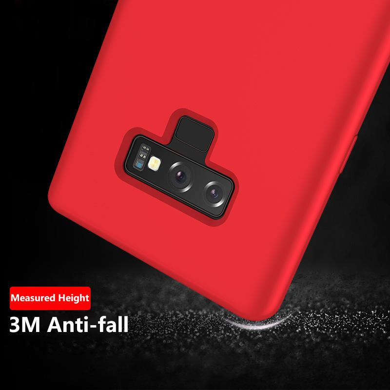 Samsung Case Original 100% Offical Silicone Soft Protection Back Cover for Samsung Note 9/Note 8/S9/S9+/S8/S8+