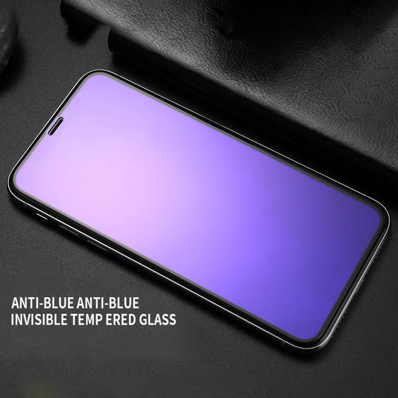 Anti-Peep 3D Full Screen Protector Tempered Film Blue-Ray iPhone7plus Apple 8plus  Mobile Phone Film HD 8plus/7plus