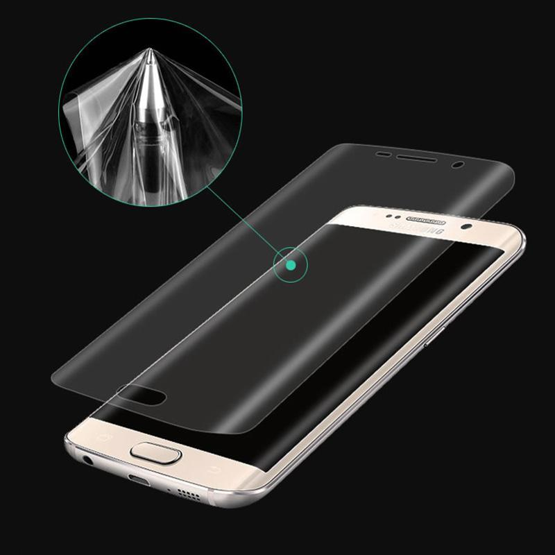 Samsung Galaxy Note9/Note8/S9/S8/S9Plus/S8Plus/S7 Edge Hot Bending Pet Mobile Phone Film Surface Full Coverage HD Soft Film