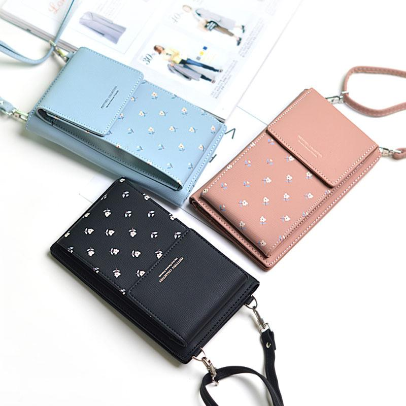 Crossbody Sling Bag with Mobile Cell Phone Wallet