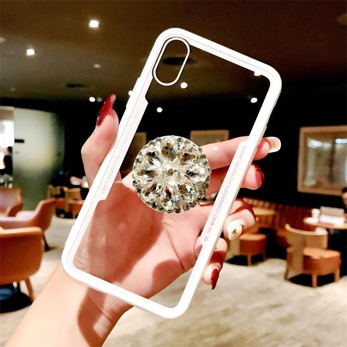 2018 Hot Selling Luxury Fashion Airbag Diamond Kickstand Phone Cases for Huawei P20 P20Pro P20Lite