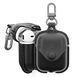 AirPods Leather Case Waterproof Retro Compatible Apple AirPods