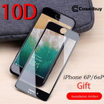 10D Fully Covered Rubberized Tempered Film iphone6/6s/7/8/6Plus/6sPlus7Plus/8Plus