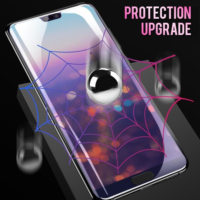 Super Smooth Hydrogel Screen Protector 360 Full Coverage Screen Protector With Free Gift Film Artifact for iPhone Huawei Hydrogel Film For iphone X XS XS Max 6 7 8 Plus