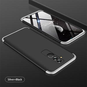 3 in 1 Double Dip 360° Full Body Protective Case for HUAWEI Mate 20 Lite