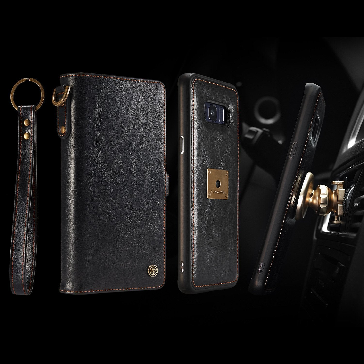 Samsung Galaxy Note9 Multifunction Leather Case