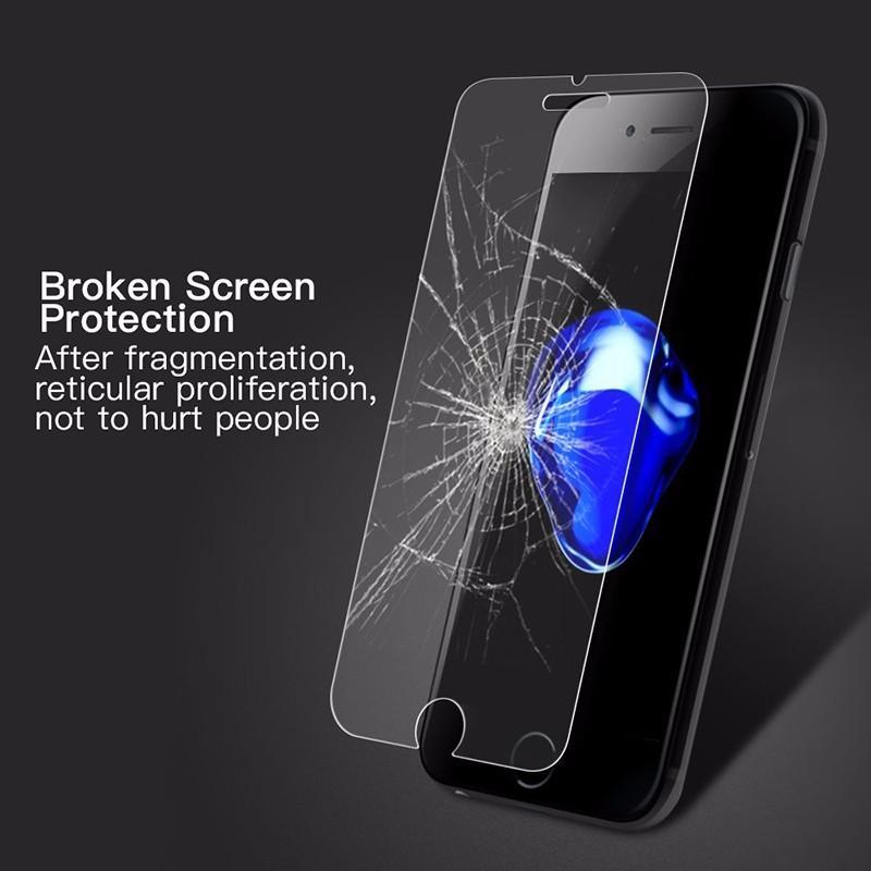 Tempered glass for iPhone 6/7/8/6Plus/7Plus/8PlusGlass Screen Protector for iPhone X/XS/XR/XS Max Protective Film for iPhone