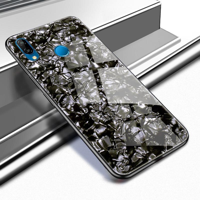 Tempered Glass Case For HuaWei Case Hard Cover For HuaWei P20/P20 Pro/P20 Lite