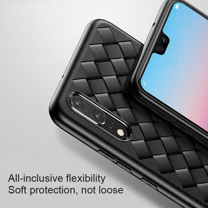 Huawei P20 Lite Case For Huawei P20 Pro Case Grid Weave Breathable Heat Disspation Phone Case For Honor 10 9 Lite