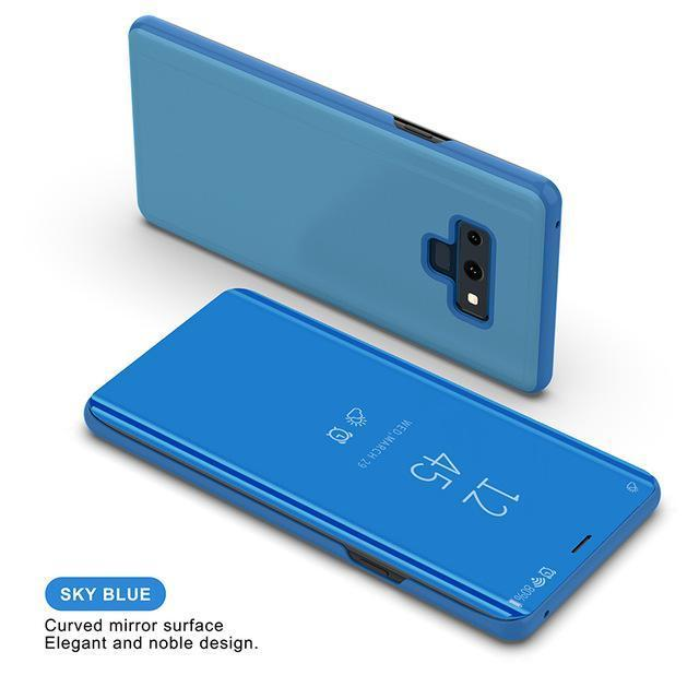 Note9 Mirror Flip Case For Samsung Galaxy Note 9