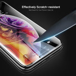 Tempered Glass For iPhone X XS Max XR Protective Screen Protector Soft Carbon Fibre Film For iPhone XS Full Cover Glass