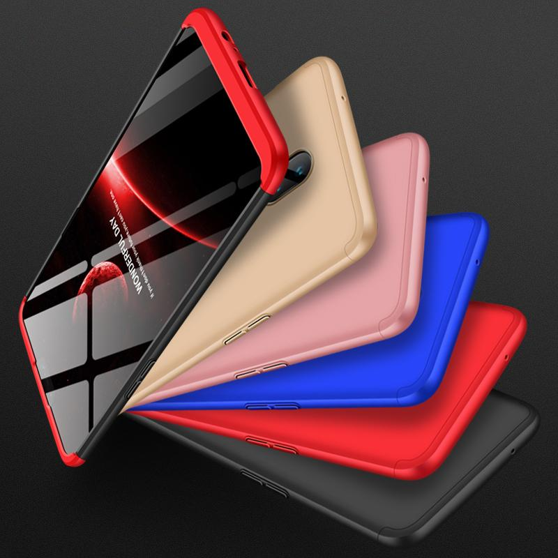 3 In 1 360 Degree Full Protection Matte Hard PC Case for Oneplus 6 One Plus 6T Oneplus 5/5T