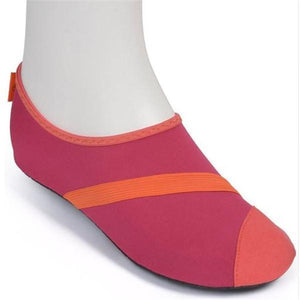 FitKicks Women's Non-Slip Sole Active Footwear-Beauty & Fashion-caseibuy.com-Red-