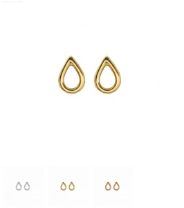 Tear drop halo - Dainty & Modern
