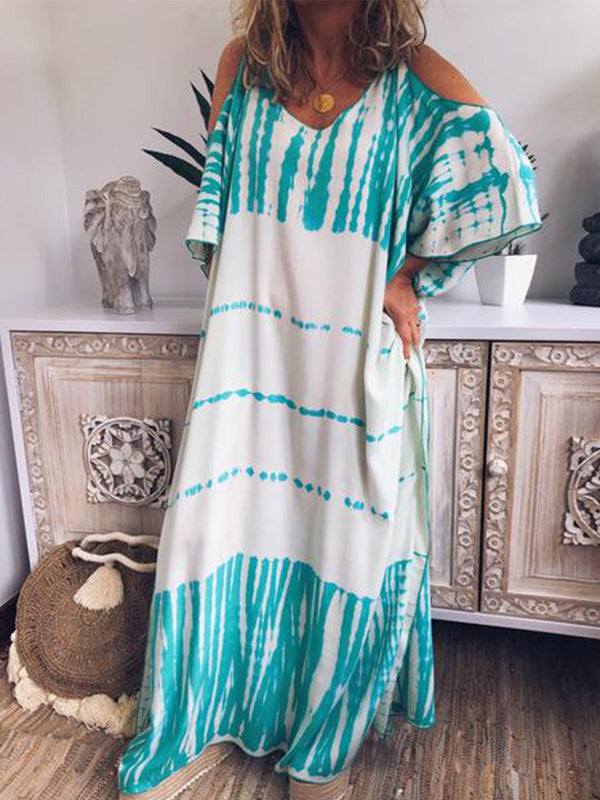 Women Casual Loose Tunic Maxi Dress