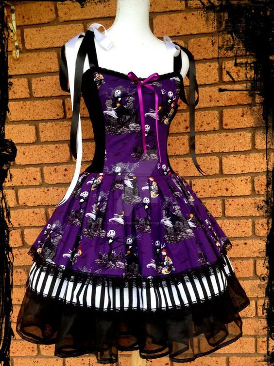 Halloween Vintage Sleeveless Dresses