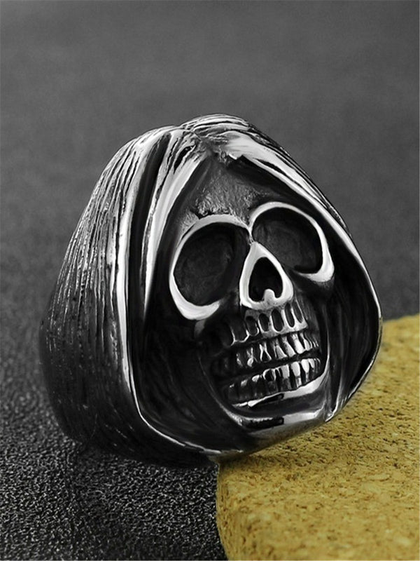 Gothic stainless steel ring