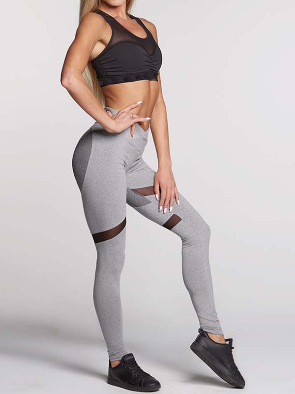 Sports Paneled Sheath Leggings