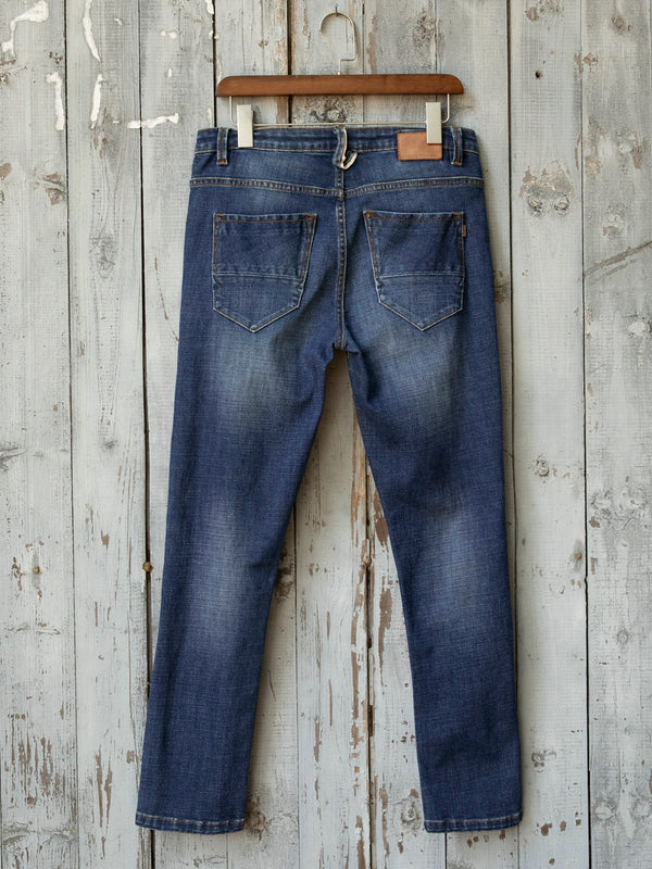 Casual hollow jeans