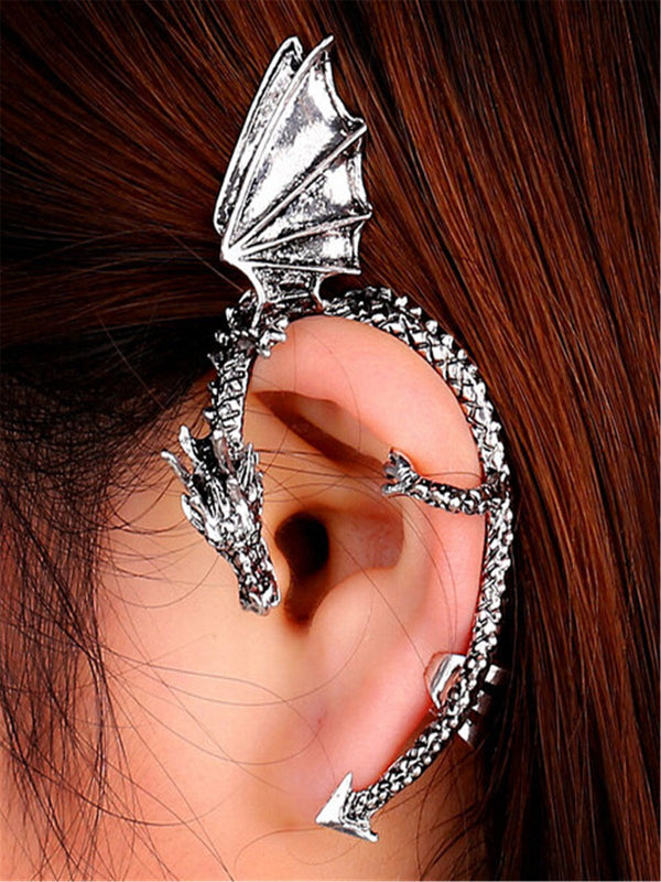 Gothic stainless steel earring