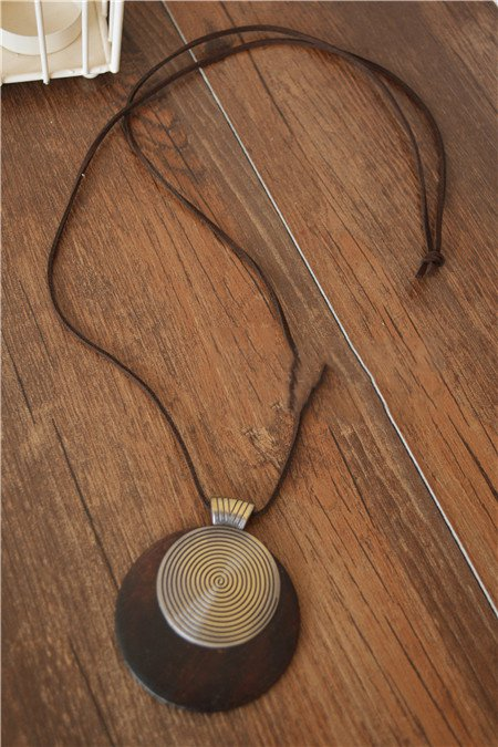 As Picture Casual Alloy Necklaces