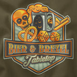 Bier & Brezel Tabletop - Old School Logo 2