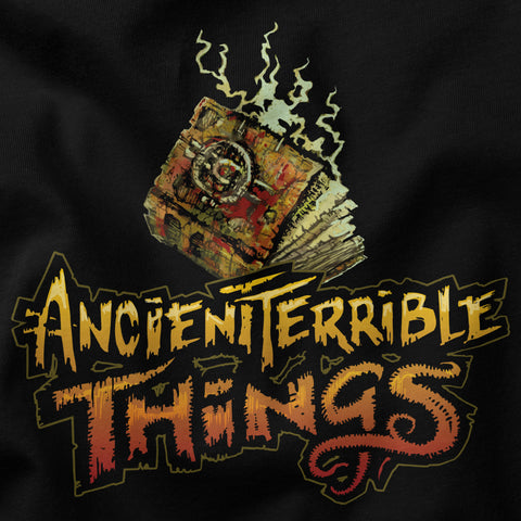 products/Shirt_PleasantCompanyGamess_AncientTerribleThings_Book_CloseUp.jpg