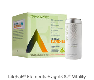 LifePak® Elements + ageLOC® Vitality