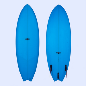 Joel Fitzgerald Surfboards Space Hawk Twin Fin