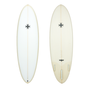 6'4 Sea Gypsy Single Fin Mid-length Surfboard