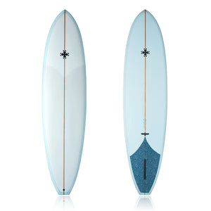 7'7 ML42, Mid-length single fin