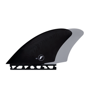 FK2 GLASS KEEL TWIN FIN SET