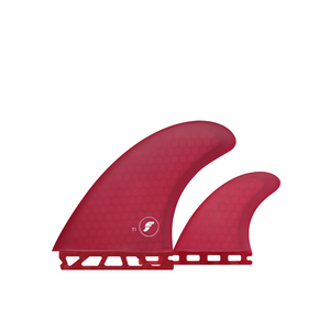 Futures T1 Twin Fin + Rear Stabiliser