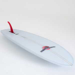 Mid Length Single Fin Hull