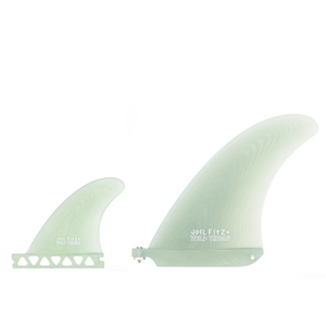 "JOEL FITZ 6.75"" Single Fin + 3.66"" Sidebites"