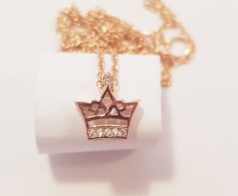 Crown Princess Pendant with Cubic Zirconia