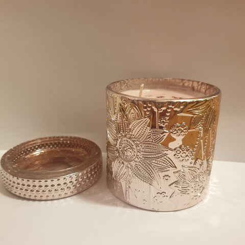 Luxe Candle Rose Gold