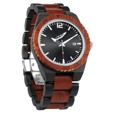 Men Ebony & Rosewood Watches