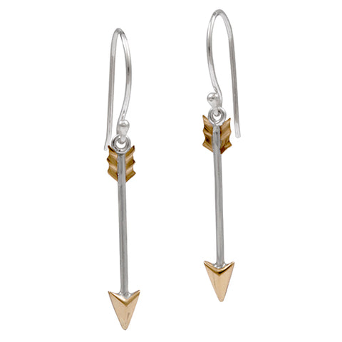 Peace Arrow Earrings