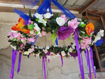Handmade Floral Mobile (Custom Made) - Sheer Envy