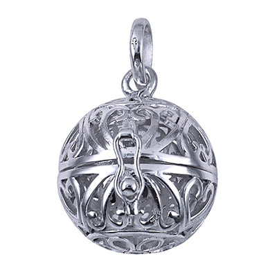 20mm Sterling Silver Filigree Harmony Ball - Sheer Envy