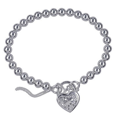 Ball Bracelet with Heart 19cm
