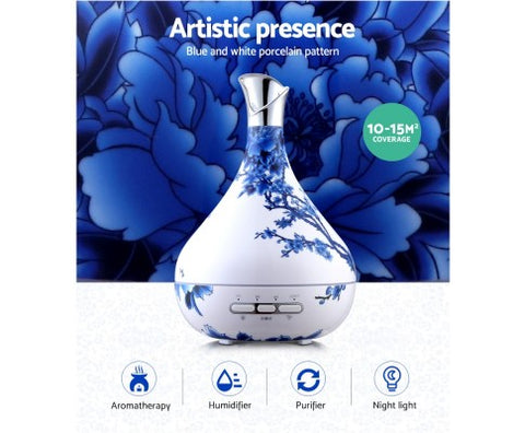 Porcelain Patterned Aroma Diffuser