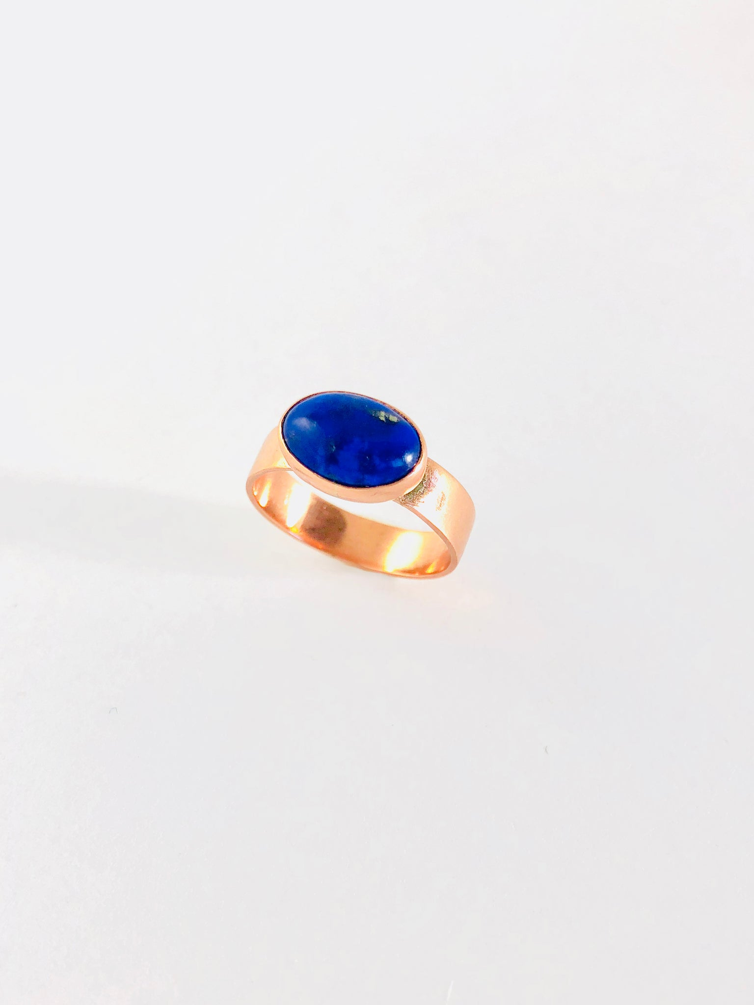Lapis Lazuli Ring in Copper - Sheer Envy