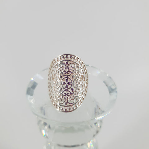 Marrakesh Vibes Ring Sterling Silver