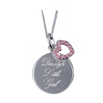 Daddy's Little Girl Pendant - Sheer Envy