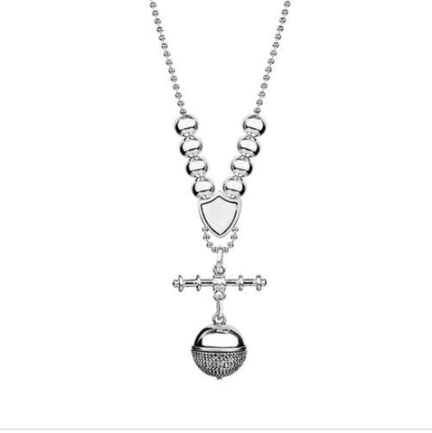 Allure Adriana Fob Ball Pendant Necklace