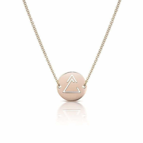 Unclosed Delta Necklace